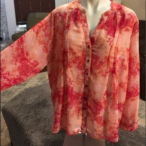 Calvin Klein 1x blouse